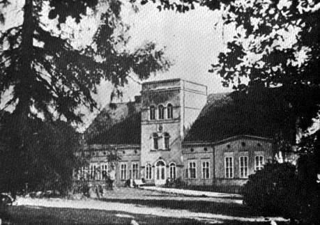 Pałac w Smęcinie przed 1945 r.